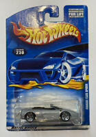 2000 Hotwheels Ferrari F355 355 Spider Silver! Long Card! Very Rare! Mint! MIOC!