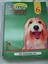 Success with Math Coach Grade 6 ISBN# 1568925468