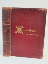 G. Frank Lydston, M.D. OVER THE HOOKAH Tales of a Talkative Doctor 1896 1stEd