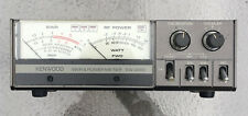 Kenwood SWR & Power Meter SW-2000 Includes an Aftermarket Power Supply Working