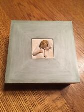 WILLOW TREE THINKING OF YOU MEMORY BOX , Girl With Seashell