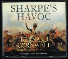 AUDIO BOOK Bernard Cornwell SHARPE'S HAVOC read by Paul McGann on 3 x CDs