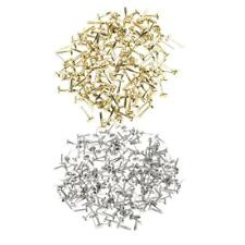 400pcs Split Pins Brads Paper Fasteners for Scrapbooking Embellishment Craft
