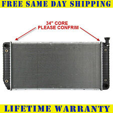 "Radiator For 1994-2000 Chevy 1500 GMC Yukon Cadillac Escalade V8 34"" Core"