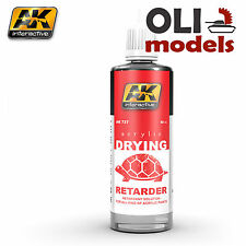 Acrylic Drying Retarder for All Acrylic Paints 60ml Bottle - AK Interactive 737