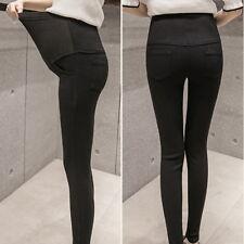 Pregnant Women Maternity Pencil Pants Pregnancy Casual  High Waist Trousers