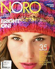 Noro Knitting Magazine Premiere Issue Fall / Winter 2012 -Unused! Men Women Home