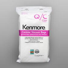 Kenmore Type Q/C Vacuum Bag Hepa for Canister Vacuum 6PCS Media Filtration 53292