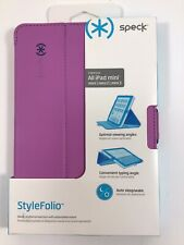 Speck Products StyleFolio Case for iPad Mini/2/3 - Fuchsia Pink/Nickel Grey