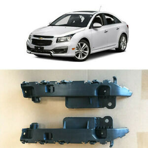 Front Bumper Brackets Retainers Passenger Driver for 2011 2015 Chevy Cruze Sedan