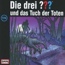 DIE DREI ??? - FOLGE 174: UND DAS TUCH DER TOTEN  CD NEU