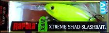 VERY RARE RAPALA X RAP SHAD XRS 8 cm SPECIAL CHU (Chartreuse UV) color