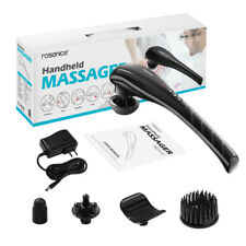 Handheld Massager Rechargeable Cordless Electric Percussion Full Body w/ 5 Heads