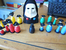 SPARES FOR INKOGNITO - MB GAMES - SPARE FULL SET OF PLAYING PIECES / PEOPLE 1988