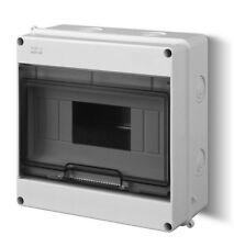 Kleinverteiler IP55 Aufputz Sicherungskasten Verteilerkaste 9 Module Verteiler