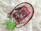 New Vera Bradley Zip Id coin Case and Lanyard set in Bohemian Blooms NWT