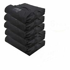 """Pizza Delivery Bag, 20""""X20""""X9"""" (Pack of 5) Black."""