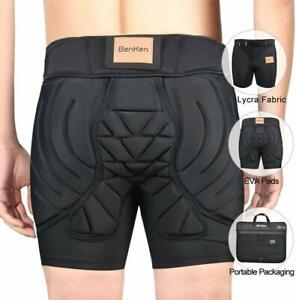 3D EVA Skiing Protection Shorts Padded Short Protective Hip Butt for Snowboard