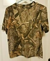 Winchester  Realtree Camo T Shirt with Pocket Youth Size XL-16-18