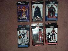 marvel legends lot, set, taskmaster, spider woman, cloak, falcon, angela, misty
