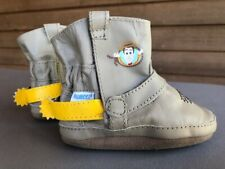 Robeez Toy Story Woody Leather Boots 0-6 months VGUC