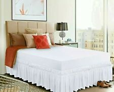 Utopia Bedding Elastic Bed Ruffle Skirt with 16 Inches Drop