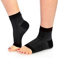 1 Pair Foot Plantar Fasciitis Arch Support Compression Socks Ankle Heel Brace US