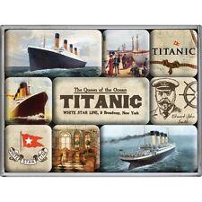 9-kits imán set titanic retro Style