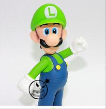 "New Super Mario Bros Brothers 5"" Luigi Toy Action Figure"