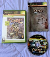 CONKER LIVE & RELOADED  - OG ORIGINAL XBOX GAME - CLASSICS VERSION