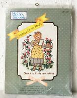 Vintage Holly Hobbie Share a Little Sunshine Counted Cross Stitch Kit Distlefink