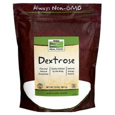 Now Foods DEXTROSE 2 LBS Made in USA FREE SHIPPING FRESH