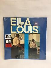 Ella Fitzgerald Louis Armstrong Ella and Louis Vinyl LP Repress 180 Gram 9152241