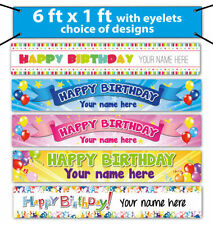 Birthday, Child PVC 1-5 m Party Banners, Buntings & Garlands