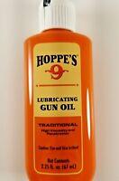 Hoppes 2.25oz Lubricating Oil Lubricant  Gun Firearm Cleaning  Hoppe's 2 1/4 oz
