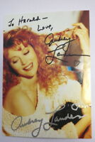 Audrey Landers Autogrammkarte Autograph