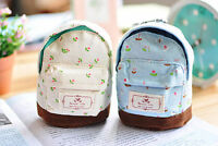 Fashion Girl Women Lady Pouch Coin Card Key Backpack Bag Purse Wallet Flower New