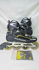 Salomon Tension Force 90mm Wheel Inline Skates Rollerblades DR 160 Mens 12