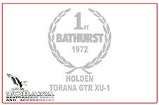 Bathurst Tribute Sticker, Holden Torana GTR XU1 - Med