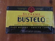 BUSTELO SUPREME Cuban Coffee Grounds Authentic Cafe Cubano
