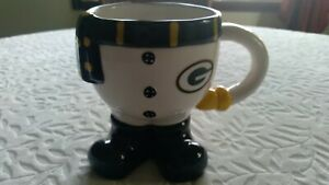 GREEN BAY PACKERS Ceramic Coffee Cup  With Team Logo on Pants