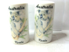 with koala salt and pepper shakers
