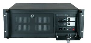 4U 19-inch Rack Mount Chassis (Black)