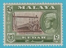 MALAYA KEDAR 105 MINT NEVER HINGED MNH OG ** NO FAULTS EXTRA FINE !