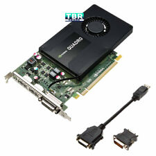 HP NVIDIA QUADRO K2200 4GB PCI-E Video Professional Graphics Card 764899-001