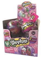 New Shopkins Bauble Ornament Christmas Holiday 12 Piece Lot In Display Box SE