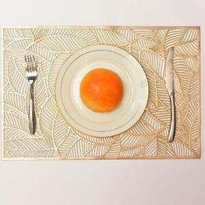 Heat Resistant PVC Bowl Pad Placemat Insulation Coaster Home Wedding Decor BT