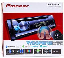 PIONEER DEH-S5200BT CD MP3 USB AUX BLUETOOTH iPHONE PANDORA SPOTIFY CAR STEREO