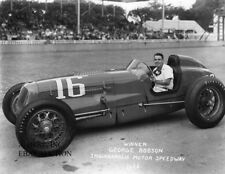 Indianapolis 500 1946 Winner George Robson Indy 500 automobile racing photo