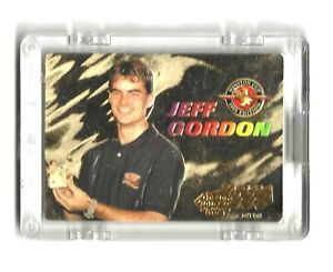 1995 Action Packed 24KT GOLD #P1 Jeff Gordon Commemorative SWEET & VERY SCARCE!